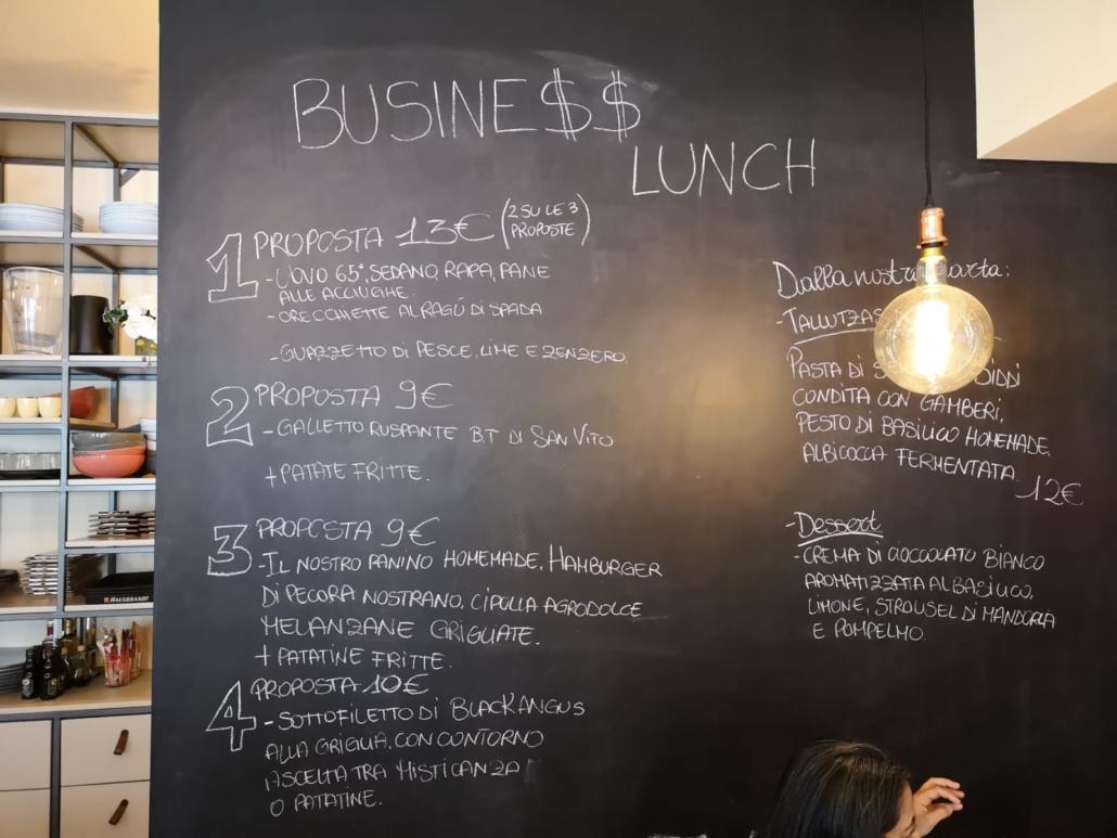 Anche il sabato è business lunch...da Room 49 Bistrot a Quartu Sant'Elena
