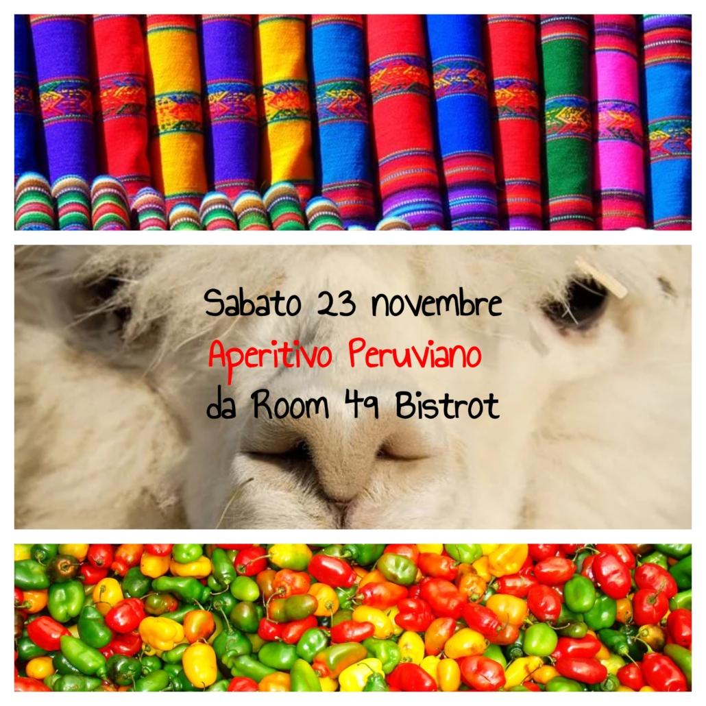 Aperitivo Peruviano da Room 49 Bistrot a Quartu Sant'Elena