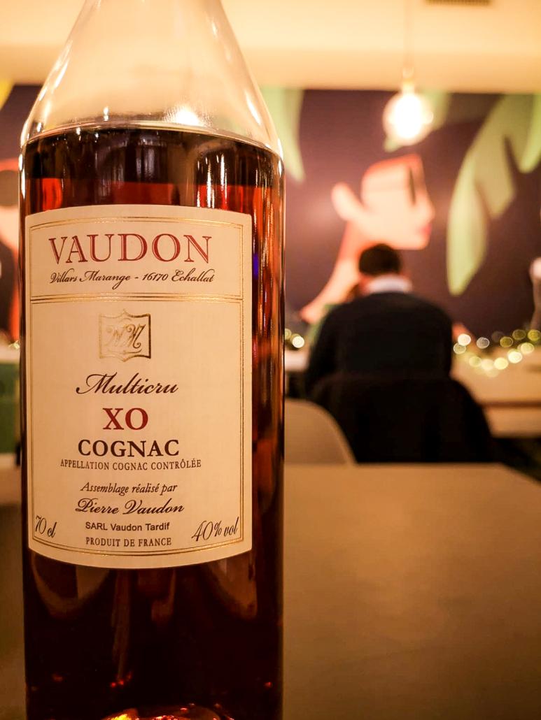 Cognac Pierre Vaudon XO multicru da Room 49 Bistrot a Quartu Sant'Elena