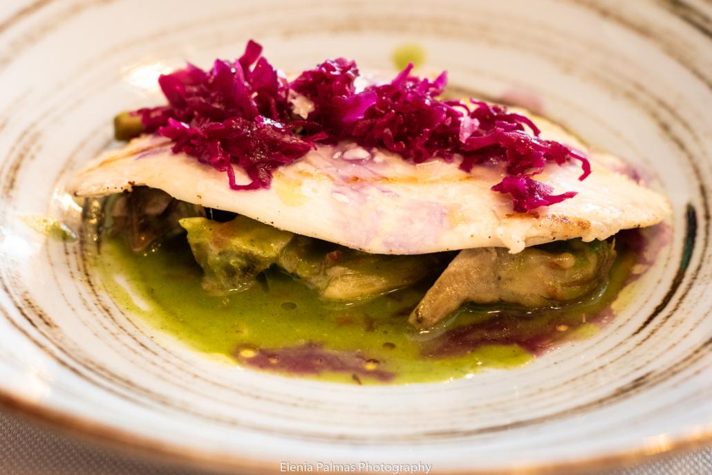 Il pesce a pranzo da Room 49 Bistrot a Quartu Sant'Elena.